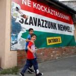 Hungary holds referendum on EU mandatory migrant plan
