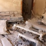 Syria conflict: Aleppo bombing shuts largest hospital
