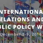 International Relations, Public Policy Week spotlights scholarship opportunities