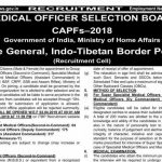 ITBP medical officers recruitment 2019: Apply online for 496 posts at recruitment.itbpolice.nic.in